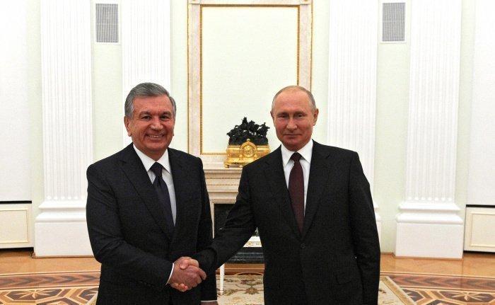4 декабря 2016 году Шавкат Мирзиёев одержал победу на внеочередных выборах президента Узбекистана, заручившись поддержкой 88,61% избирателей (Фото: официальный сайт президента России)