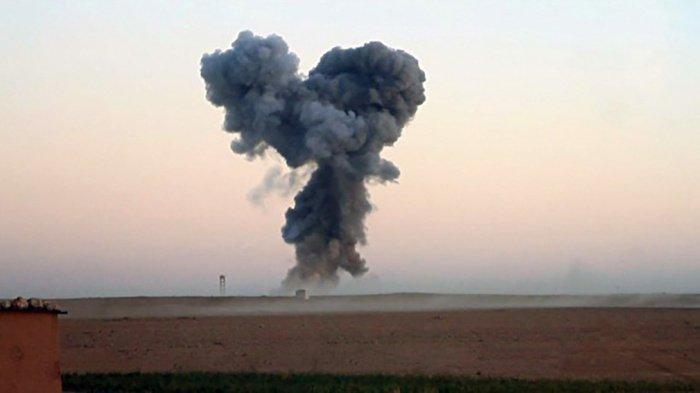 В Ираке из-за аномальной жары прогремели взрывы на военной базе.