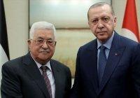 Аббас поздравил Эрдогана с возобновлением мусульманских молитв в Айя-Софии