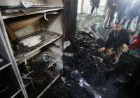 Израильские поселенцы подожгли мечеть в окрестностях Рамаллы