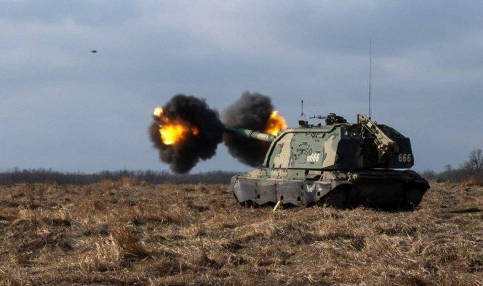 Крупные военные учения на Северном Кавказе.
