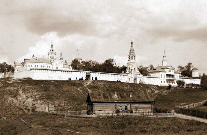 Зилантов монастырь в начале 20 века