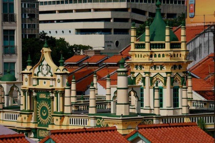 Сингапурская мечеть, в которой через сто лет обнаружили потайной подвал