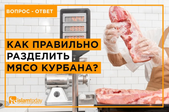 Как правильно разделить мясо жертвенного животного? (Источник фото: unsplash.com)