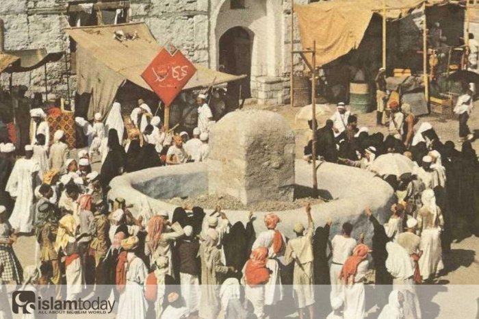 Фоторепортаж из хаджа 1953 года.