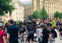 В Великобритании проходит масштабный велопробег в поддержку Палестины