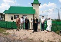 В Бавлинском районе при участии муфтия открылась новая мечеть «Балкыш»