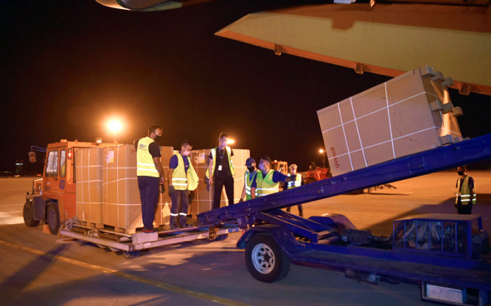 Российская гумпомощь доставлена в Киргизию.