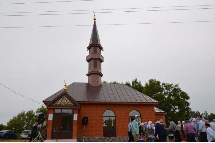 Новая мечеть открылась в Сабинском мухтасибате.