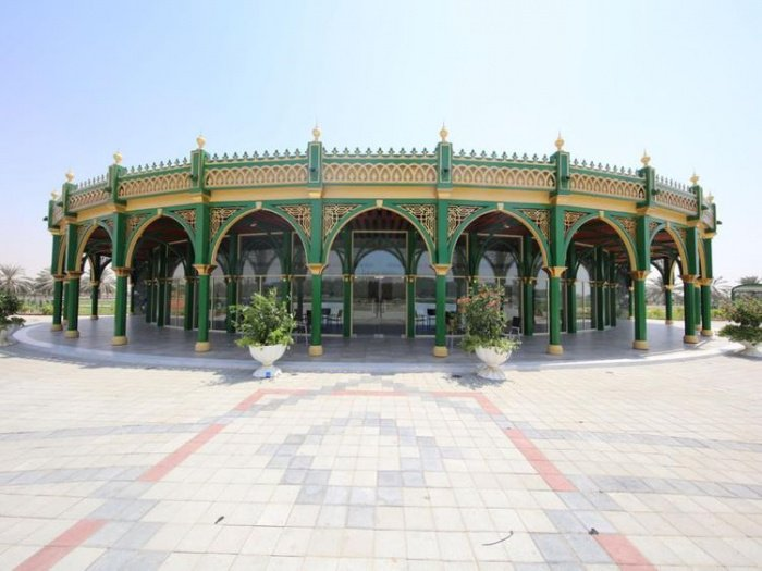 Новый исламский сад открылся в Шардже.