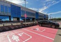 Первая в России парковка для женщин появилась в Казани