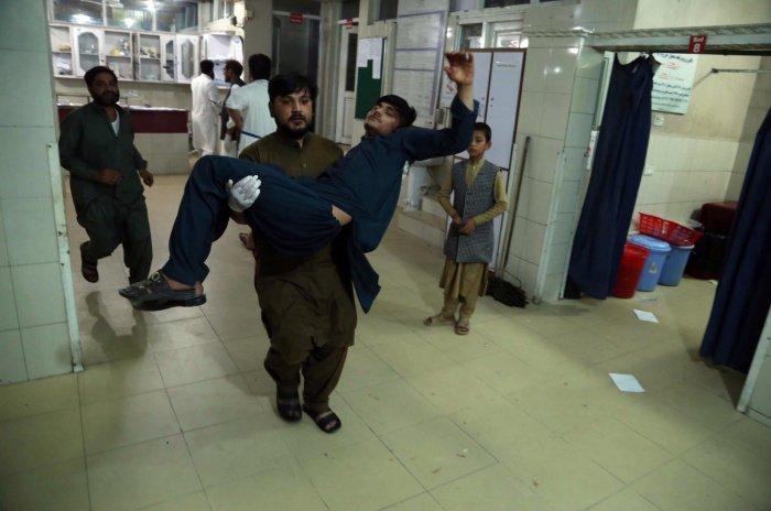 Жертвами боевиков стали не менее 29 человек, более 40 пострадали.