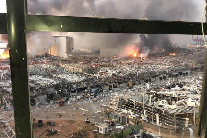 В ливанской столице растет число жертв взрыва.