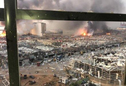 Число жертв взрыва в Бейруте превысило 100