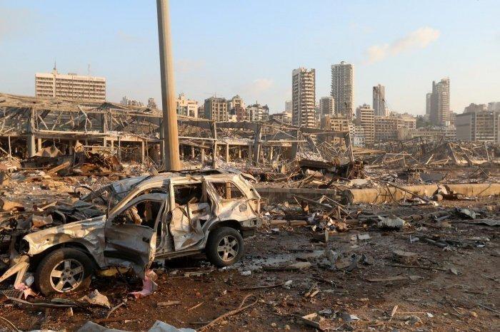 От взрыва пострадало 60% Бейрута.