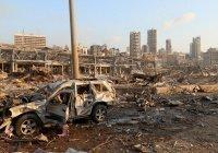 Опубликовано видео последствий взрыва в Бейруте с высоты птичьего полета