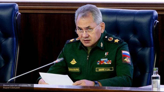 Сергей Шойгу оценил результаты проверки вооруженных сил.