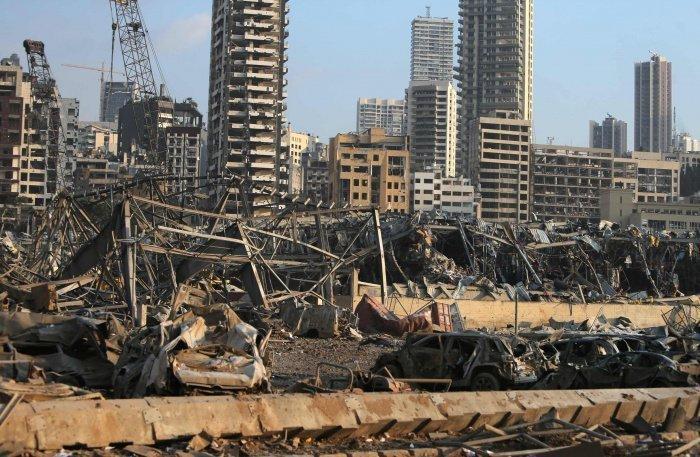 Взрыв повредил 60% Бейрута.