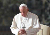 Папа Римский призвал молиться о жителях Ливана