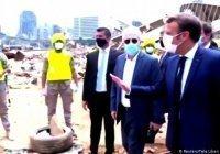 Макрон первым из зарубежных лидеров прибыл в полуразрушенный Бейрут
