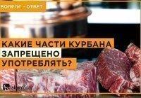Можно ли употреблять желудок жертвенного животного в пищу?