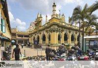 Путешествие по мусульманскому миру. Сингапурская мечеть, ставшая национальным достоянием