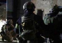 Опубликовано видео с места ликвидации боевиков в Ингушетии