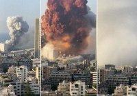 Житель Бейрута показал 9-минутное видео взрывов в порту высоком качестве
