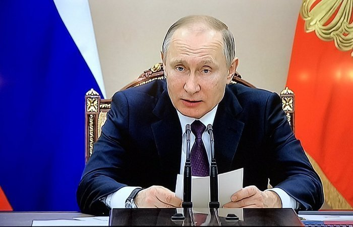Путин назвал приоритеты Российской Федерации вовнешней политике