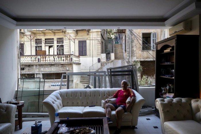 Как изменилась жизнь жителей Бейрута после взрыва? (ФОТО)