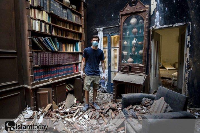 О жизни ливанцев после взрыва. (Источник фото: https://vk.com/kief_point)
