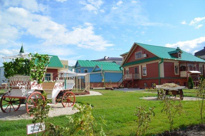 Открытие дома Муллина в Старо-Татарской слободе.