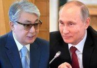 Токаев поздравил Путина с регистрацией первой в мире вакцины от коронавируса