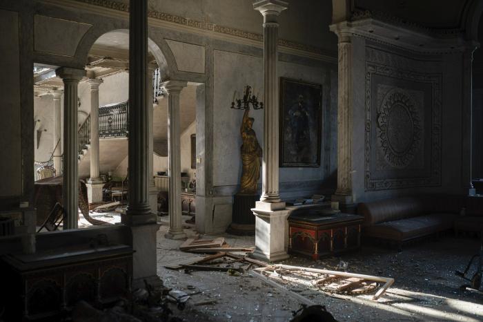Взрыв в Бейруте разрушил 160-летний дворец, переживший две мировые войны