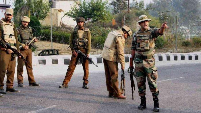 Силы безопасности Индии в штате Джамму и Кашмир.