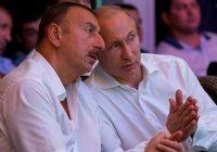 Путин и Алиев обсудили обострение в Нагорном Карабахе