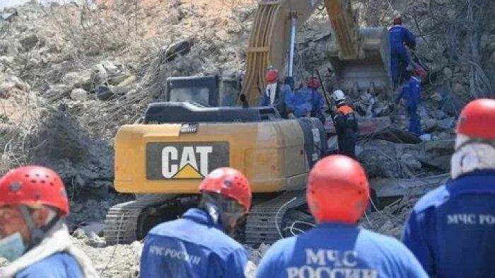 В МЧС РФ сообщили о завершении работы в Бейруте.