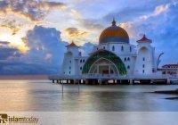 Фантастическая архитектура мечетей – исламские храмы, «выросшие» из воды