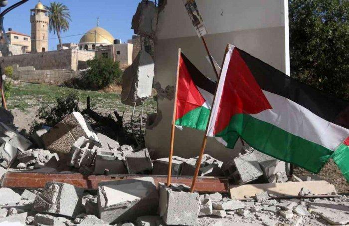 Власти Палестины заявили о полном неприятии документа.