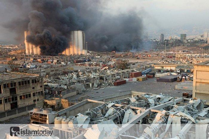 Взрыв в Бейруте. (Источник фото: yandex.ru)
