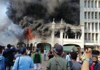 Старинная мечеть вспыхнула в ЮАР