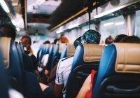 На юге Казахстана перевернулся автобус