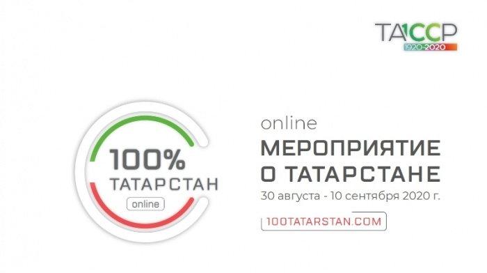 """Онлайн мероприятие """"100% Татарстан"""". (Источник фото: yandex.ru)"""