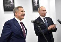Владимир Путин встретится с президентом Татарстана