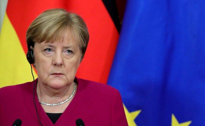 """При этом канцлер призналась, что для нее конфликт в Сирии """"самой крупной трагедией"""" не является (Фото: kremlin.ru)"""