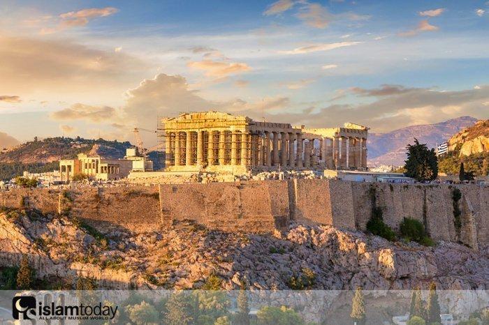 Афинский Парфенон был мечетью? (Источник фото: yandex.ru)