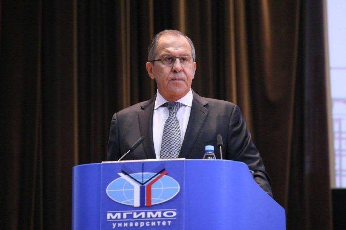Сергей Лавров выступил в МГИМО.
