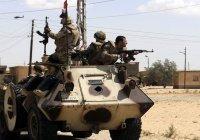 Египетская армия уничтожила около 80 террористов на Синае