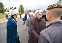 Муфтий встретился с главой Елабужского района