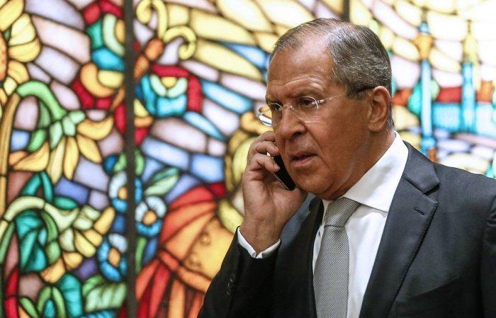 Сергей Лавров провел переговоры с главой МИД Нигера.